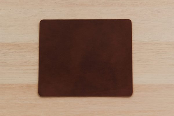 Leather Mouse Mat Pad - Luxury Premium Grade Leather - Home Office Decor - Buttero Leather Mousepad by Oldfield